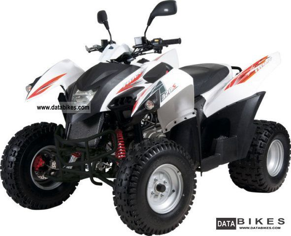 2011 Adly  Hercules Hurricane Quad 320 Motorcycle Quad photo