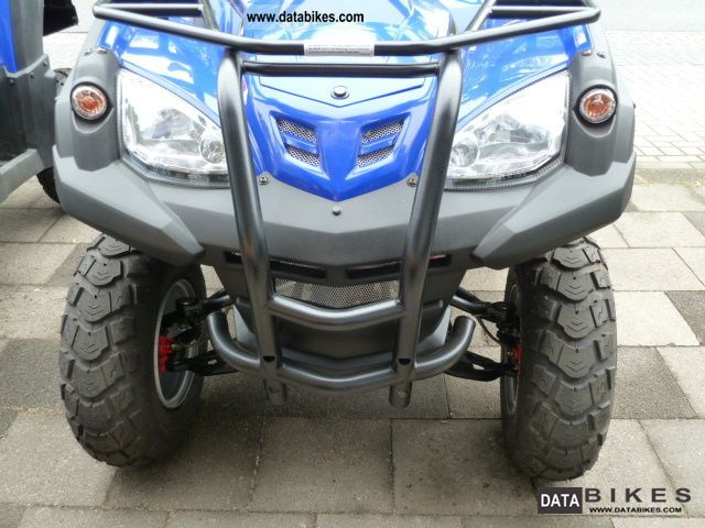 2011 Adly  Canyon 320 Auto includes case Motorcycle Quad photo