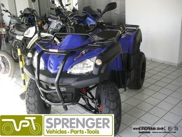 2011 Adly  320 CANYON QUAD / ATV / HERCULES Motorcycle Quad photo