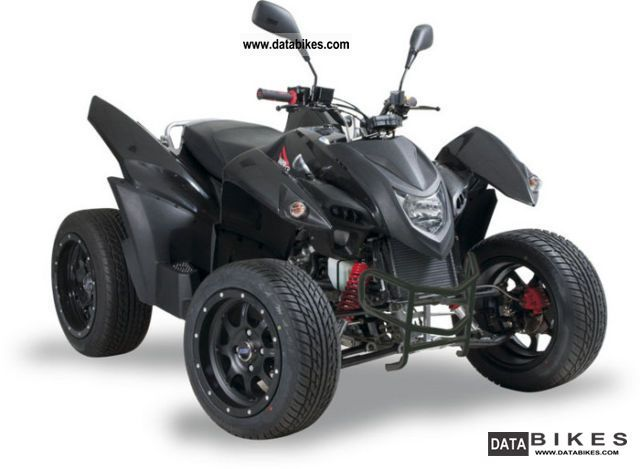 2011 Adly  320 flat Motorcycle Quad photo