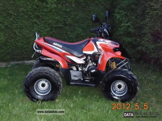 2008 Aeon  Revo 50 W Motorcycle Quad photo