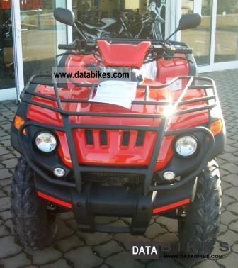 2011 Aeon  Overland 600 LOF open power 40HP Motorcycle Quad photo