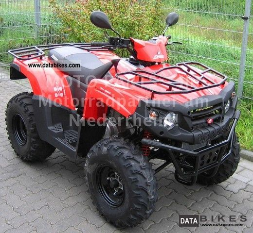 2011 Aeon  Cross Country - The ATV adventure for top price! Motorcycle Quad photo