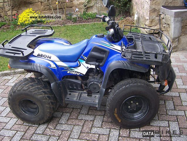 2003 Aeon  Cobra Motorcycle Quad photo