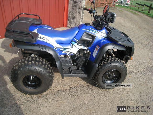 2002 Aeon  Cobra Motorcycle Quad photo