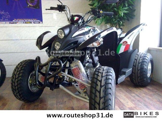 2011 Aeon  Bistrada 5.3 Moto Bionics Motorcycle Quad photo