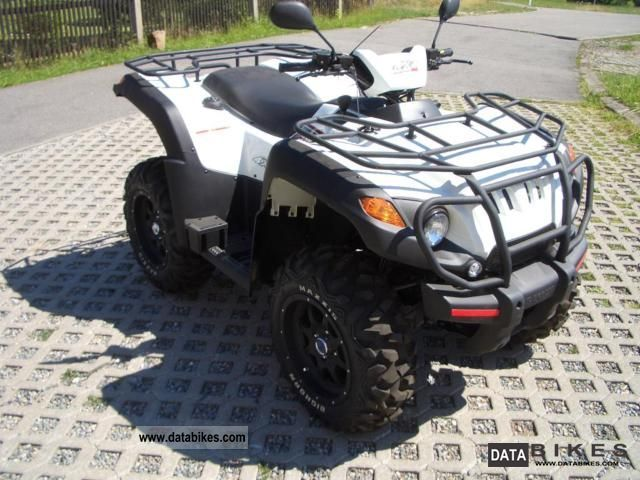 Aeon  Overland 600 with winch and snow plow 2011 Quad photo
