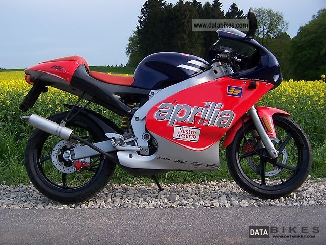 2001 Aprilia  RS 50 REPLICA Motorcycle Motor-assisted Bicycle/Small Moped photo