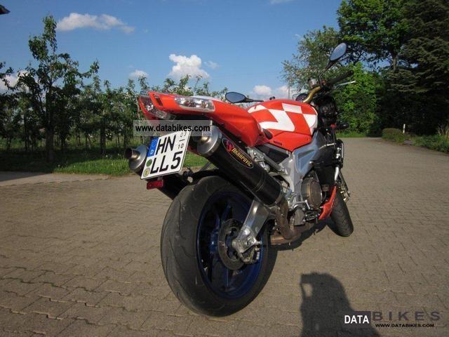 2007 Aprilia  Tuono 1000 R Motorcycle Naked Bike photo