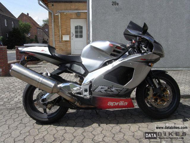 2002 Aprilia  RSV Mille RP Motorcycle Sports/Super Sports Bike photo