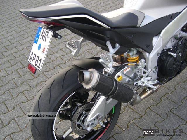 2011 Aprilia  Tuono V4R APRC Motorcycle Motorcycle photo