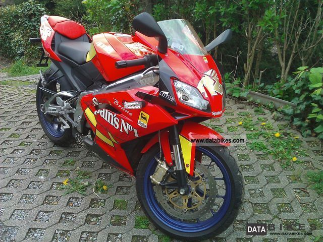 Aprilia  RS 125 - Spains No. 1 2007 Sports/Super Sports Bike photo
