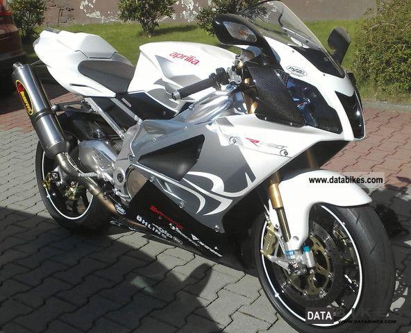 2008 Aprilia  RSV 1000 Motorcycle Sports/Super Sports Bike photo