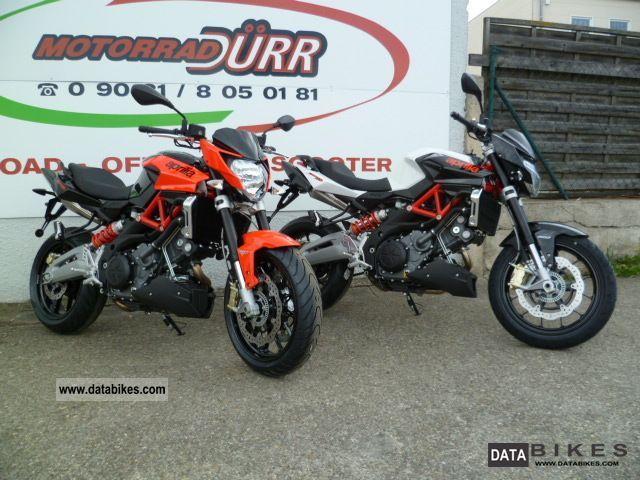 2011 Aprilia  Shiver 750 ABS 2012 Motorcycle Naked Bike photo
