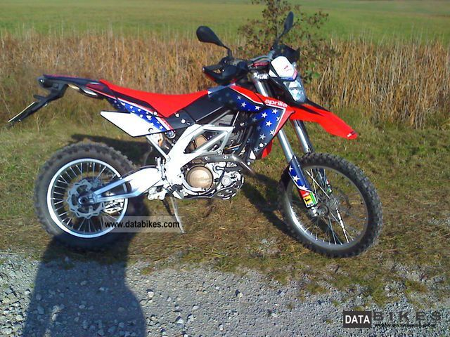 2010 Aprilia  RXV550 Motorcycle Enduro/Touring Enduro photo