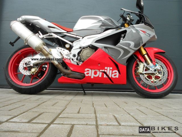 2008 Aprilia  Mille RSV 1000 RR - New tires - Motorcycle Sports/Super Sports Bike photo