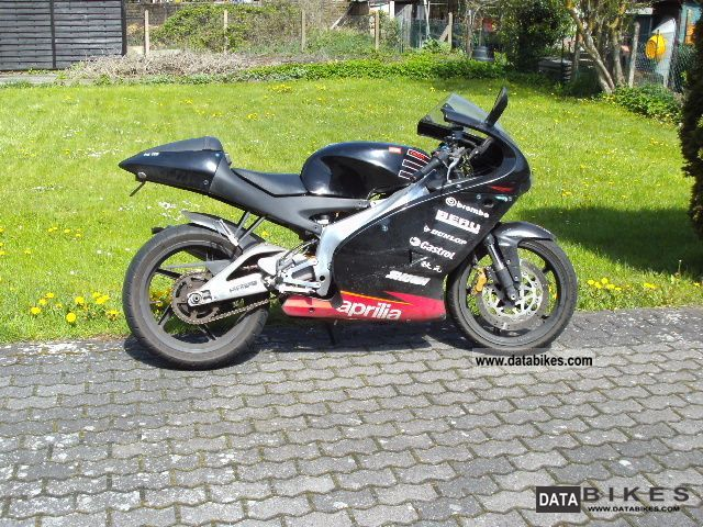 Aprilia  125 RS 80 kmh throttled 2005 Lightweight Motorcycle/Motorbike photo