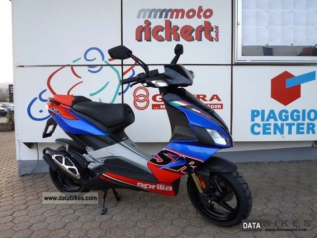 2011 Aprilia  SR 50 R BLUE POWER SCOOTER MOFA also INCL.! Motorcycle Scooter photo
