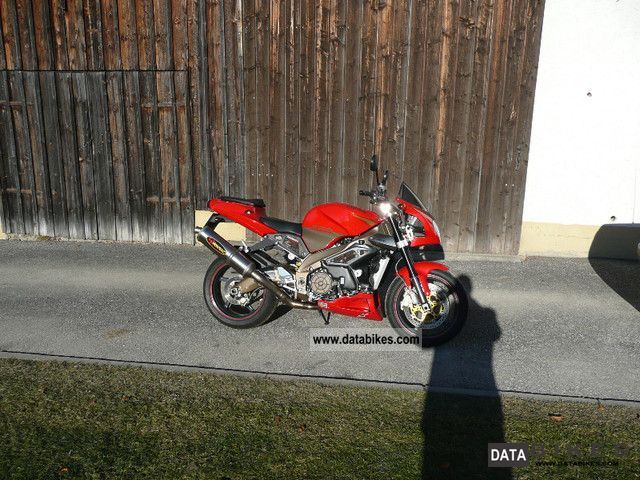 2003 Aprilia  Rsv tuono Motorcycle Motorcycle photo