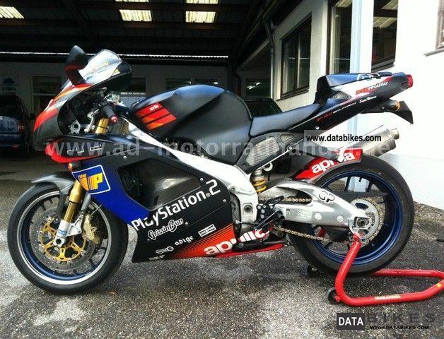 2002 Aprilia  RSV 1000 Mille R Haga Replica Limited Edition Motorcycle Sports/Super Sports Bike photo