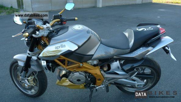 2008 Aprilia  Shiver SL Motorcycle Naked Bike photo