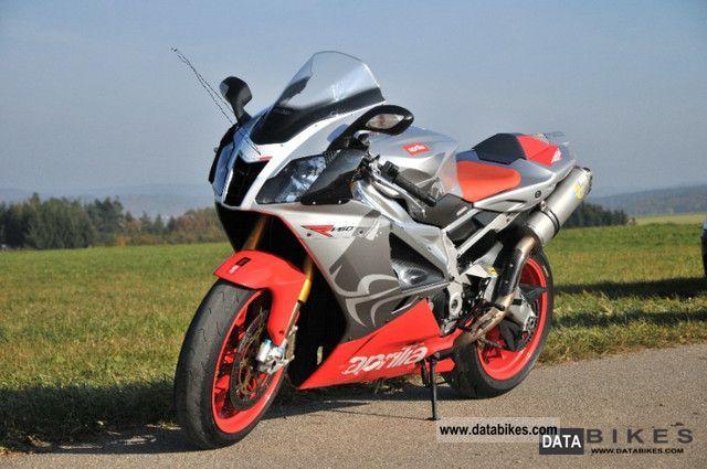 2007 Aprilia  RSV Mille RSV Mille R Factory Platium Ed Motorcycle Sports/Super Sports Bike photo