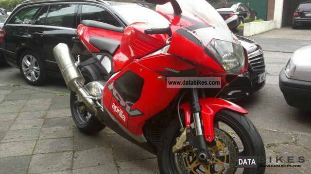 2001 Aprilia  RSV 1000 Motorcycle Sports/Super Sports Bike photo