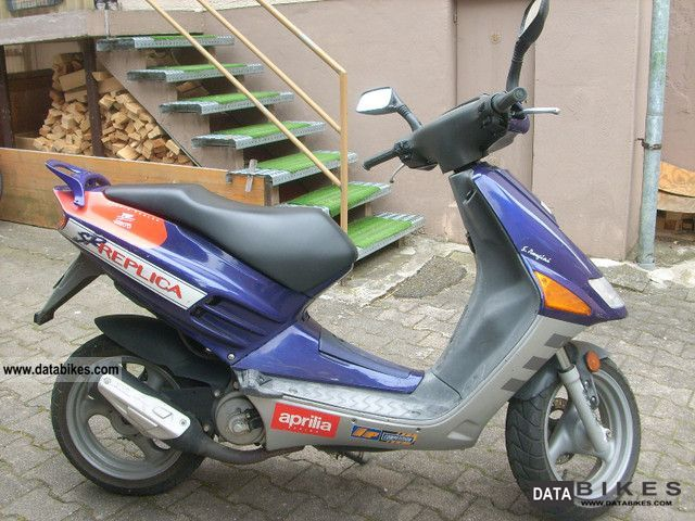 1996 Aprilia  SR50 Motorcycle Motor-assisted Bicycle/Small Moped photo