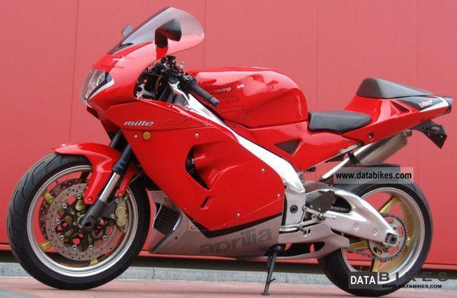 2000 Aprilia  RSV Mille 1000! Akrapovic TOP TOP TOP Motorcycle Sports/Super Sports Bike photo