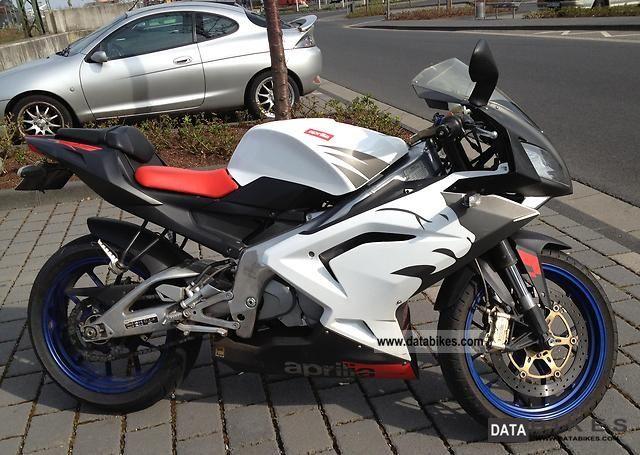 2007 Aprilia  RS 125 80 km / h throttle set including Motorcycle Sports/Super Sports Bike photo