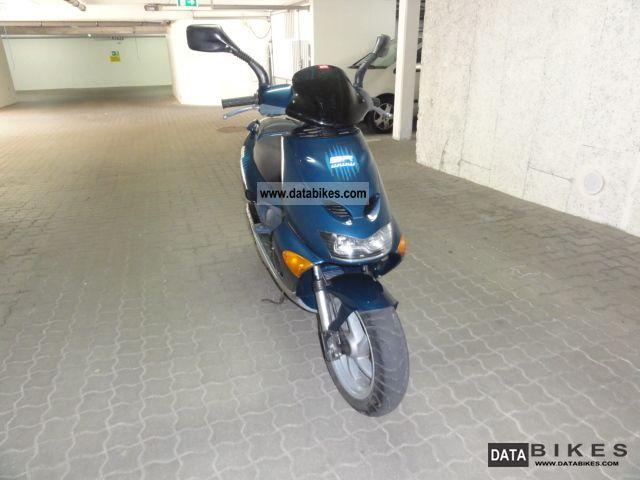 1999 Aprilia  SR 50 W W W AC Motorcycle Scooter photo