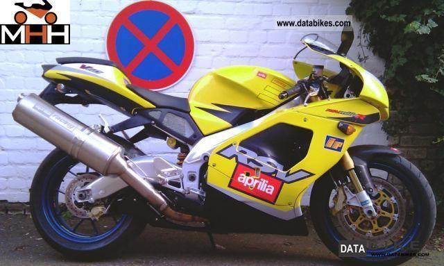 2001 Aprilia  RSV1000R, Mille R Factory warranty located. Motorcycle Sports/Super Sports Bike photo