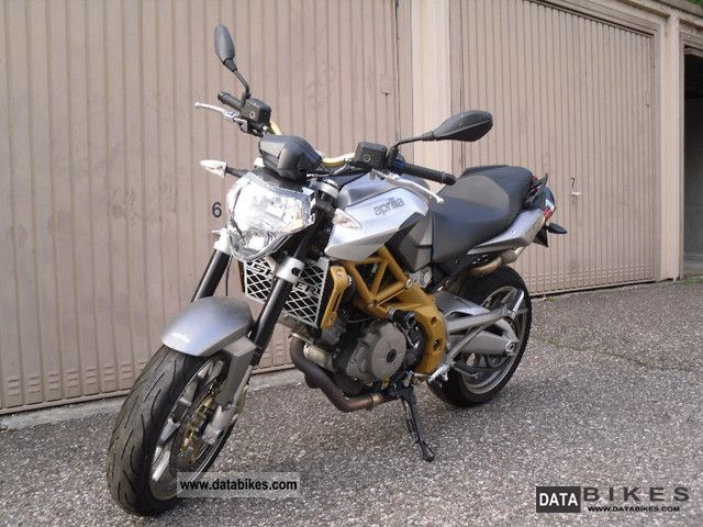 2008 Aprilia  Akrapovic Shiver SL 750 Motorcycle Naked Bike photo