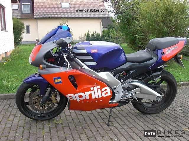 1996 Aprilia  RS250 Motorcycle Racing photo