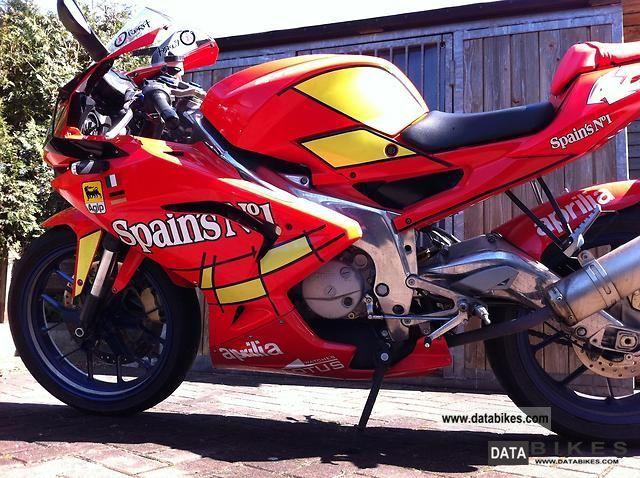 2008 Aprilia  No RS 125 Spain. A Motorcycle Sports/Super Sports Bike photo