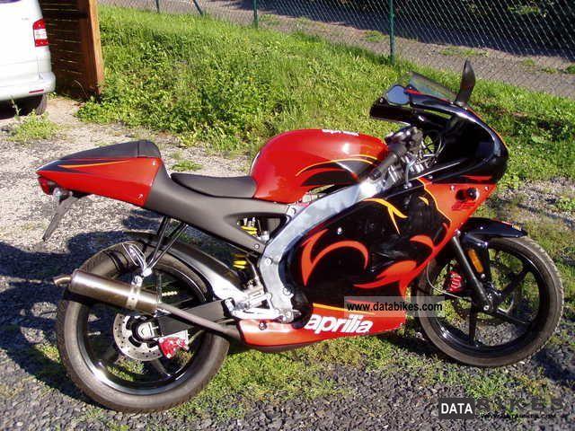 2007 Aprilia  RS 50 Motorcycle Lightweight Motorcycle/Motorbike photo