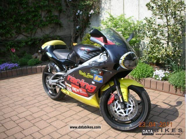 2001 Aprilia  RS125 Replica Motorcycle Sports/Super Sports Bike photo