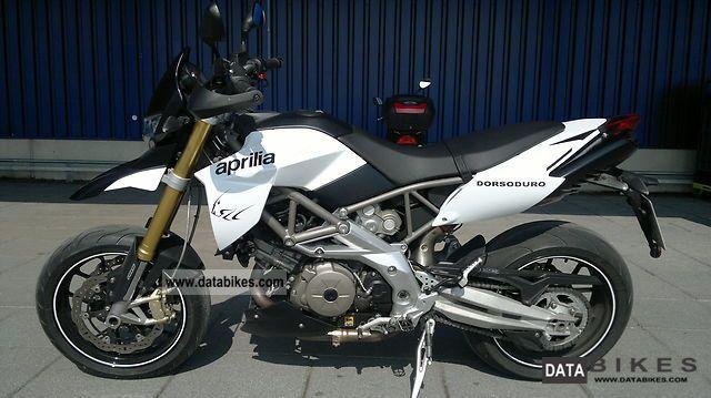 2009 Aprilia  DORSODURO ABS (front & rear) Motorcycle Super Moto photo