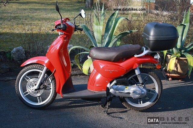 2012 Aprilia  Scarabeo 50 Rosso Shine Motorcycle Scooter photo
