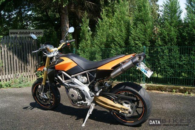 2010 aprilia smv dorsoduro 750 with akrapovic