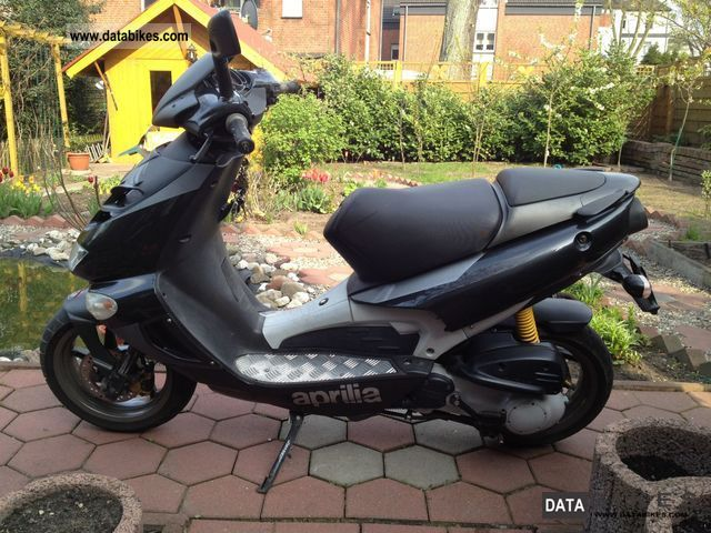 2007 Aprilia  SR 50 Sport 1 Hand moped scooter TOP! Motorcycle Scooter photo
