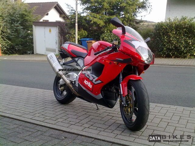 2001 Aprilia  RSV 1000 Mille Motorcycle Sports/Super Sports Bike photo