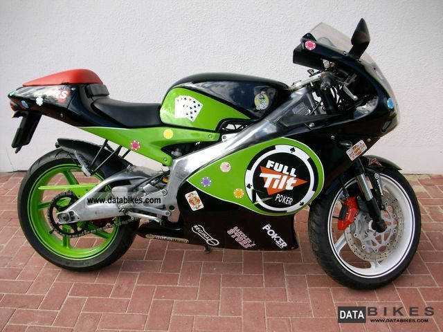 2005 Aprilia  RS 125 for A1 with 80km / h restriction Motorcycle Lightweight Motorcycle/Motorbike photo