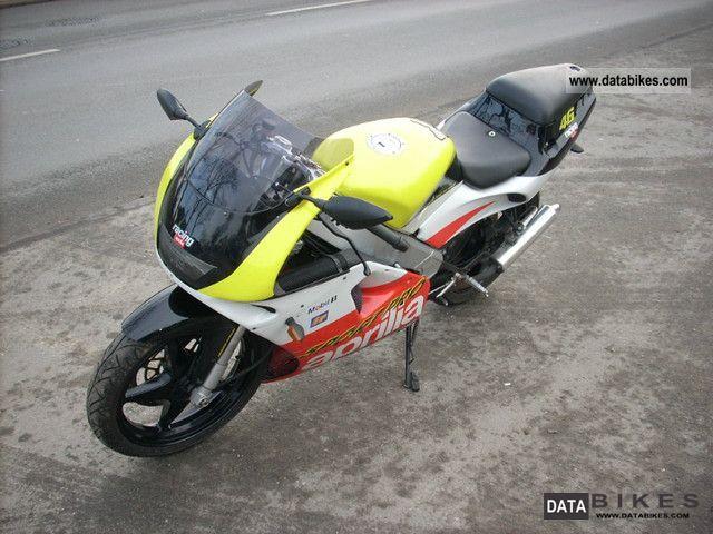 1995 Aprilia  AF1 / RS 125 Sport Pro Motorcycle Sports/Super Sports Bike photo