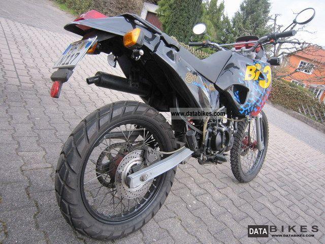 1995 Aprilia  Tuareg 50/125 Derbi Bi3 Motorcycle Enduro/Touring Enduro photo
