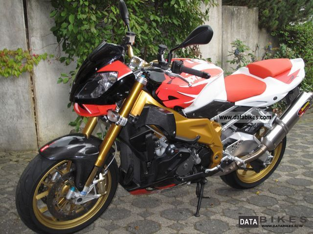 2008 Aprilia  Tuono 1000R Factory Akrapovic Motorcycle Naked Bike photo