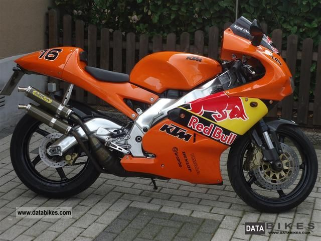 1999 Aprilia  Rs 250 --- KTM Replica Motorcycle Sports/Super Sports Bike photo