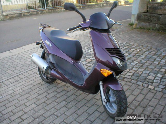 1999 Aprilia  Leonardo 125 Violet Motorcycle Scooter photo
