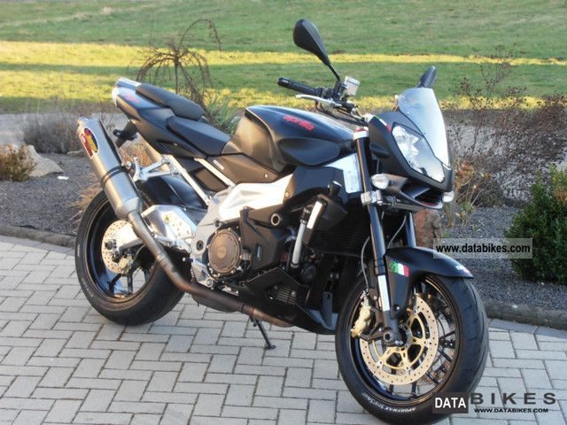 2008 Aprilia  RSV1000R Tuono with warranty Motorcycle Naked Bike photo