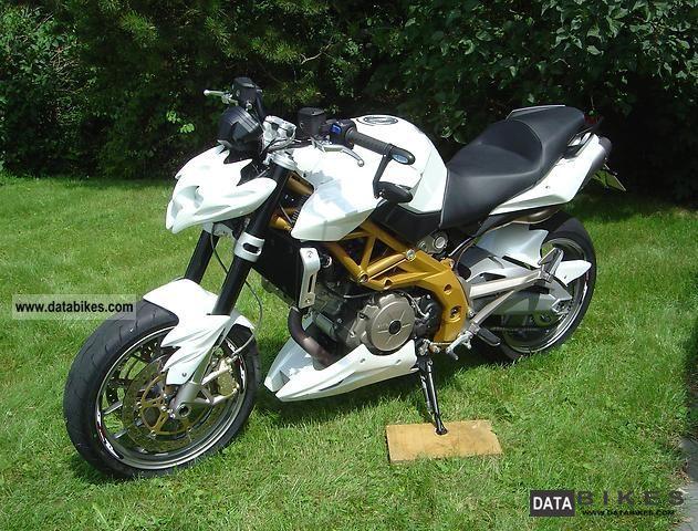 2008 Aprilia  Shiver Motorcycle Naked Bike photo